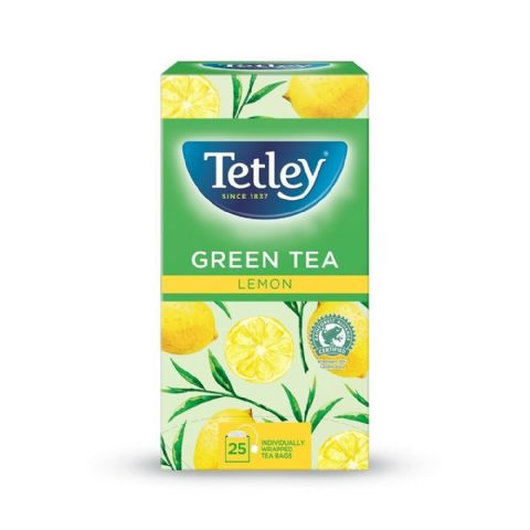 Tetley Herbal Tea - Green Tea Lemon